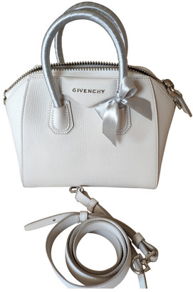 Givenchy Antigona White Leather Handbags