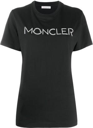 Moncler logo applique cotton T-shirt