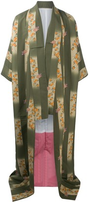 A.N.G.E.L.O. Vintage Cult 1990s Floral Kimono Coat