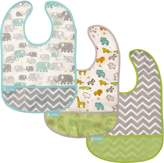 Kushies Baby B1173-3 Clean Bib Waterproof-Bib