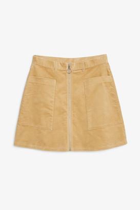 Monki Preppy A-line mini skirt