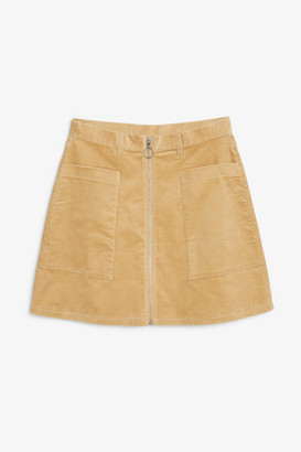 Monki Preppy A-line mini skirt