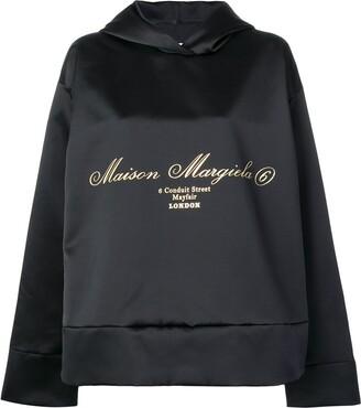 MM6 MAISON MARGIELA Oversized Draped Sweatshirt