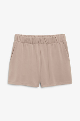 Monki Super-soft sporty shorts