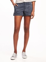 """Old Navy Pixie Chino Utility Shorts for Women (3 1/2"""")"""