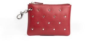 Rebecca Minkoff Clip Pouch with Heart Studs