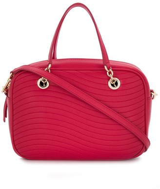 Furla Swing quilted satchel bag