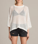 AllSaints Crosby Cropped Sweater