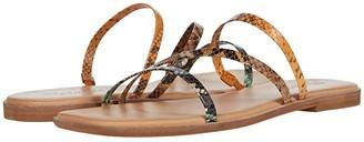 Madewell Lyra Slide Sandal (Ripened Melon Multi) Women's Shoes