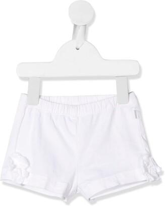 Il Gufo Floral Embellished Shorts