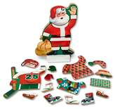 Melissa & Doug Santa Wooden Dress-Up Doll and Stand With Magnetic Accessories (22pc)