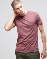 Element One Pocket T-shirt Oxblood Red Heather
