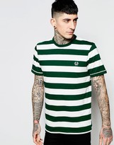 Fred Perry T-shirt With Bold Stripe