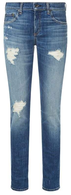 Rag & Bone Distressed Dre Jeans