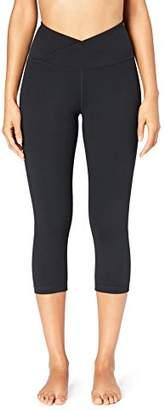 Core 10 Amazon Brand Women's 'Build Your Own' Yoga Pant - Medium Waist Capri Legging