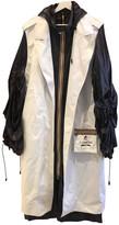 K-Way White Trench Coat for Women