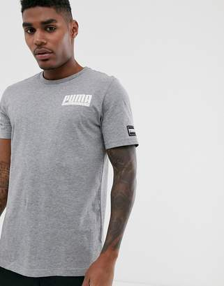 Puma athletics T-shirt in grey