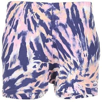 adidas 3 Stripe Shorts (Multicolor/White/Midnight Indigo/True Pink) Women's Shorts