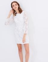 Miss Selfridge 3D Floral Organza Dress