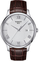 Tissot Tradition Stainless Steel Leather Strap Watch