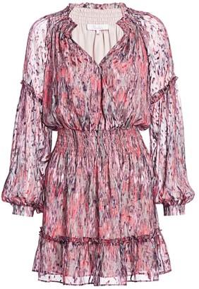 Parker Parma Burnout Dress