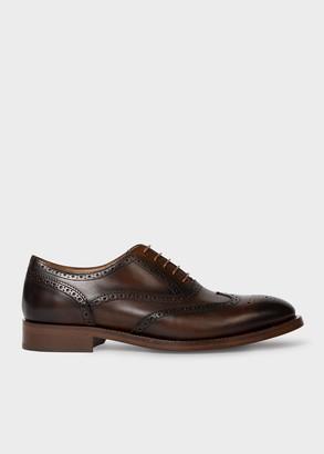 Men's Tan Leather 'Coleridge' Brogues