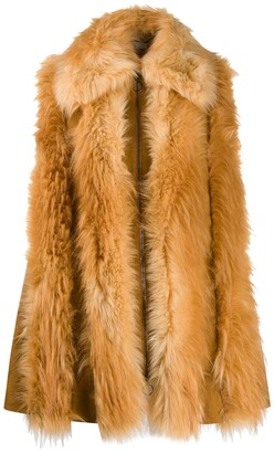 Stella McCartney Fur Free Fur zipped gilet