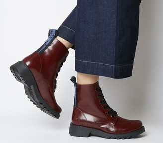 Fly London Ragi Boots Red