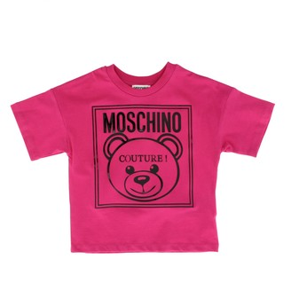 Moschino Kid Short-sleeved T-shirt With Teddy Print