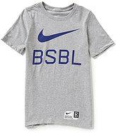 Nike Big Boys 8-20 BSBL Short-Sleeve Tee