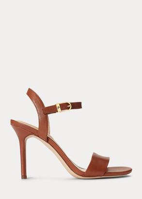 Ralph Lauren Gwen Leather Sandal