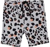 The BRAND Leopard Biker Swim Shorts