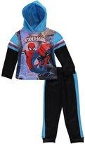 "Spiderman Little Boys' Toddler ""Web Slinger"" 2-Piece Fleece Sweatsuit"