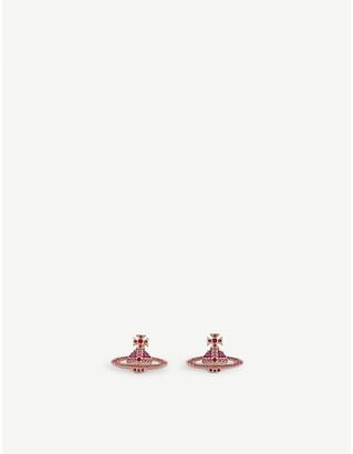Vivienne Westwood Kika orb crystal earrings