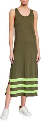 LISA TODD Meshed Up Sleeveless Maxi Dress