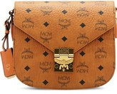 MCM 'Small Patricia' Visetos Coated Canvas Crossbody Bag