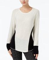 Rachel Roy Long-Sleeve Colorblocked Sweater