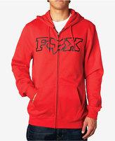 Fox Men's Graphic-Print Zip Up Hoodie