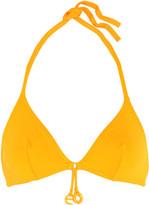 Eres Grigri Clover Triangle Bikini Top - Marigold