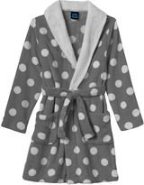 Girls 4-16 Jelli Fish Print Fleece Bath Robe