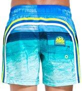 Sundek Short de bain Garcon 504 Bleu Ocean