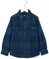 Morley checked shirt - kids - Lyocell - 6 yrs