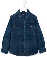 Morley checked shirt - kids - Lyocell - 8 yrs