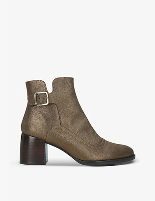 Chie Mihara Or-Omayo heeled leather ankle boots