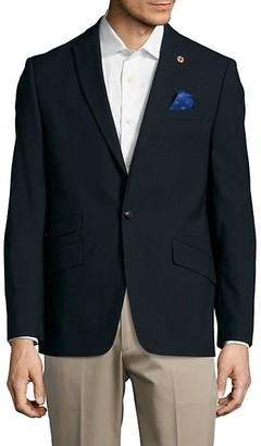 Ben Sherman Textured Wool-Blend Jacket
