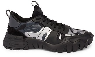 Valentino Rockrunner Plus High Frequency Sneakers