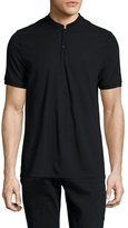The Kooples Cotton Knit Polo