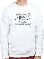 Customised Perfection Founding Member of Grumpy Men Club Funny Sweatshirt XL