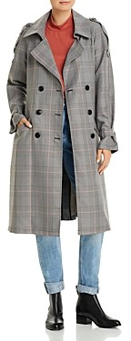 Vero Moda Check Print Coat