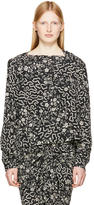 Isabel Marant Black Groundy Blouse